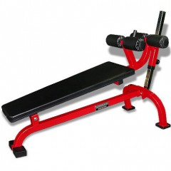 Crunch Bench with Adjustable Tension Feature and Pads NO.TS-30