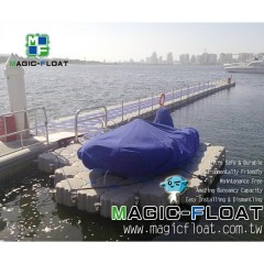Floating Jetty and Drive on Dock for Speed Boats and Yachts