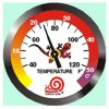 Sticker Thermometer R-39