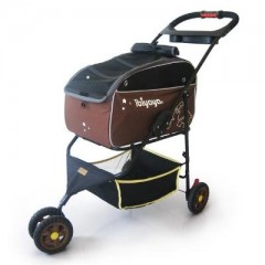 Multifunction Pet Carrier Jogger - Brown FS905-BR