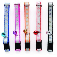Pet collars Reflective with Glitter NYCR-10P