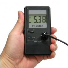 pH meter Portable, Table Stand and Wall Mount, Easy to use