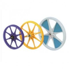 Nylon + FRP or P.P  -  Bicycle Wheel