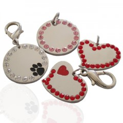 Pet ID Tag (Stainless)-FU0728- & FU0729-