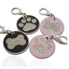 Pet ID Tag (Stainless)-FU0750- & FU0761-