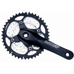 MTB l MTB> 9, 8 speed Chainwheel & Crank Sets FM680A1 (LASCO)