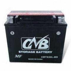 Motorcycle MF battery
