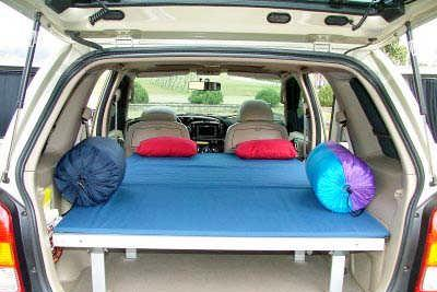 Multi-function Vehicle Inside Bed