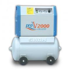 Clean oil-free compressed air