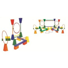 Sports Training, School Sport, Outdoor Toys, Luxurious GYM set