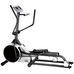 Dual-action Elliptical Cross Trainer with Adjustable Pedal and Sealed Ball Bearing