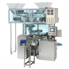Stand up pouch bag filling seailng machine