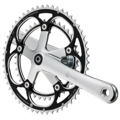 Double-Chainring Square Axle Crankset