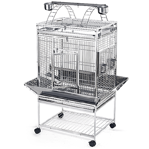 Stainless Steel & Metal Bird Cage - 26x20PP