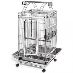 Stainless Steel & Metal Bird Cage - 24x24PP