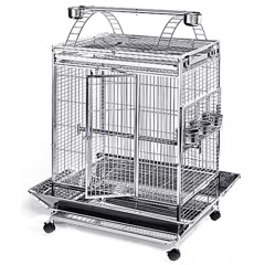Stainless Steel & Metal Bird Cage - 32x24PP