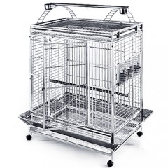 Stainless Steel & Metal Bird Cage - 44x32PP