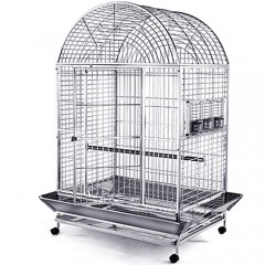 Stainless Steel & Metal Bird Cage - 44x32D
