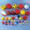 Foam Sport Balls And Dice