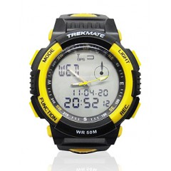 ANALOG & DIGITAL SPORT WATCH CIRCLE SHAPE