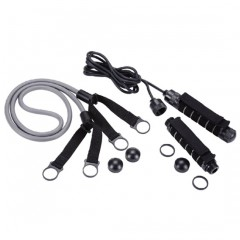 DUMBBELL AND JUMP ROPE AND PULL EXERCISER (PL-019)