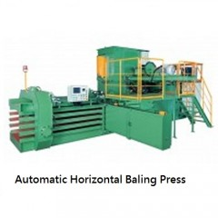 SELL Automatic Horizontal Baling Press--TB0911