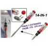 14 IN 1 Extendable Ratchet Screwdriver (2030)