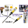 14 IN 1 Flexible Gearless Ratchet Screwdriver (2032)