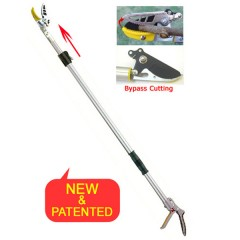 NEW Movable Clip - Telescopic BYPASS Long Reach Pruner (3146AB (Telesc. 2M ) / 3146AB-1 (Telesc. 3M)