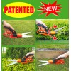 360° Swivel Stainless Steel Grass Shears - Wavy Blade(3159S)