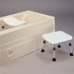 K/D Shower Chair Ergonomic Seat
