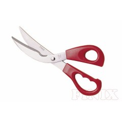 Plastic Grip Stainless Steel Kitchen Shears