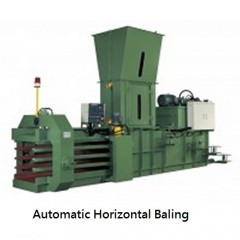SELL Automatic Horizontal Baling Press--TB0708