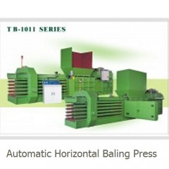 SELL Automatic Horizontal Baling Press--TB1011