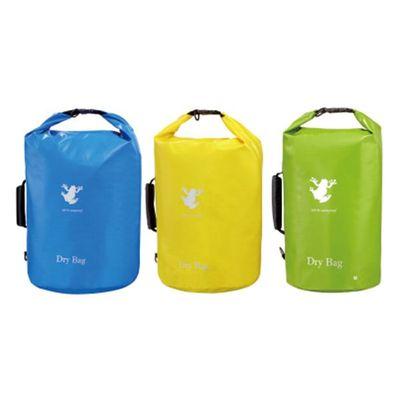Round bag in 100% Waterproof Bag with Handle