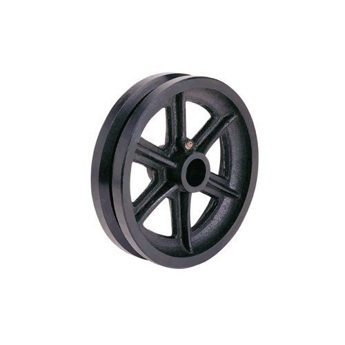 CAST IRON V GROOVE WHEELS