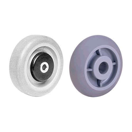 THERMOPLASTIC RUBBER ON POLYOLEFIN CENTER WHEELS