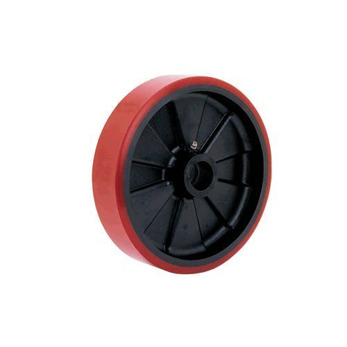 POLYURETHANE ONGLASS FILLED NYLON WHEELS