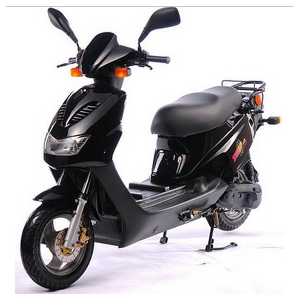 EEC 4,300W DC brushless electric scooter + CVT transmission