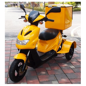 3,900W 3 wheel Postal Delivery electric scooter model +CVT+Motor Reverse+Parking Brake