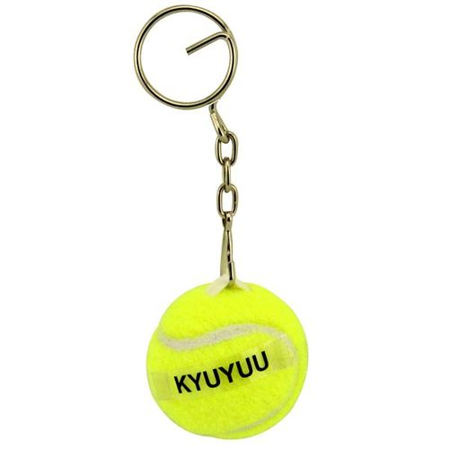 Tennis ball keychain/tennis ball keyring