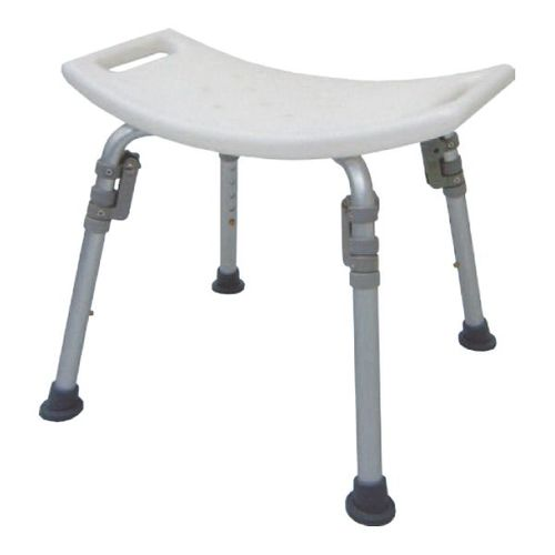 HS7101 Alum. Bath Bench, Individual Folding Legs