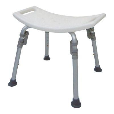 HS7101 Alum. Bath Bench, Individual Folding Legs