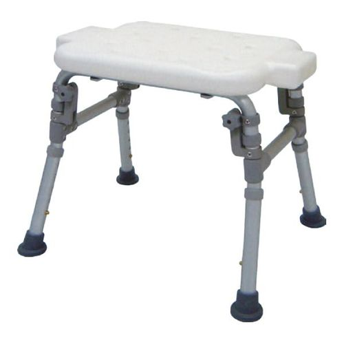 HS7301 Alum. Bath Bench, Parallel Folding Legs