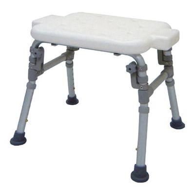 HS7301 Alum. Bath Bench, Parallel Folding Legs