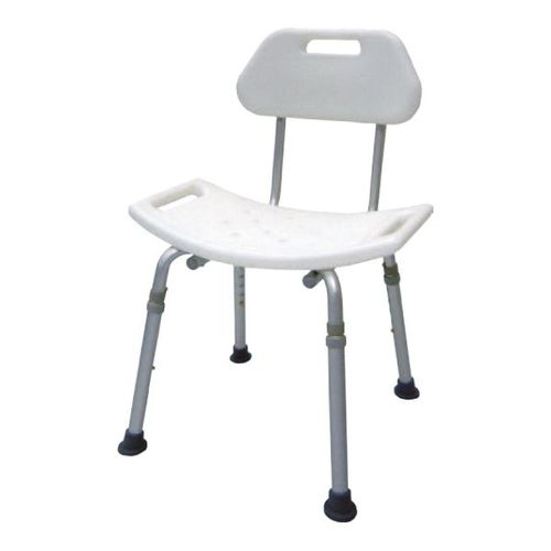 HS8121 Alum. Bath Bench, Detachable Back, K/D Assembly