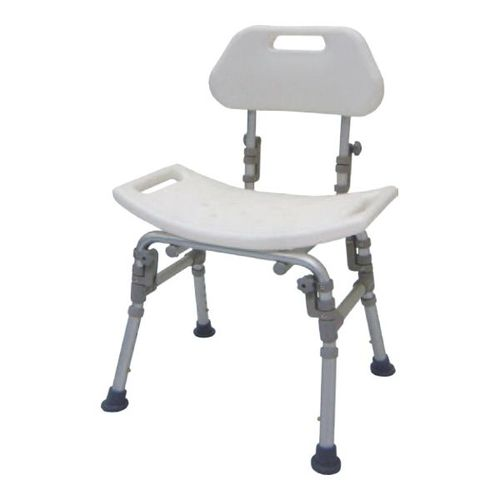 HS9111 Bath Bench, Foldable Back, Parallel Folding Legs