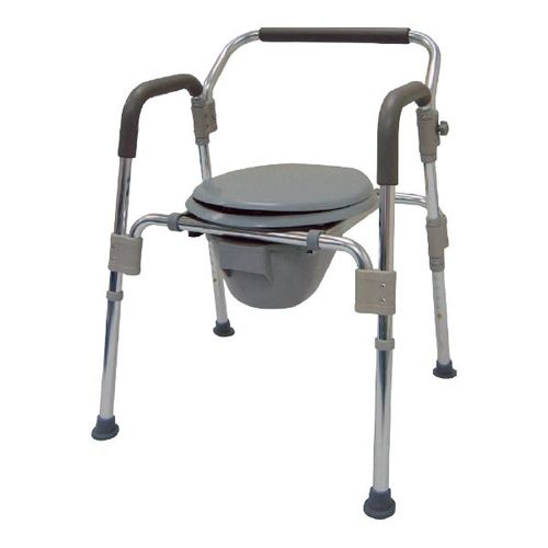 HT2100 Alum. Commode Chair
