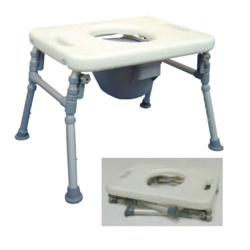 HS9D06S Foldable Commode Chair / Over Toilet Chair