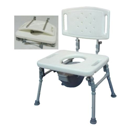 HS9D16S Foldable Commode Chair / Over Toilet Chair